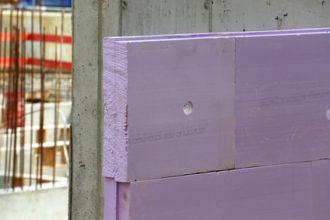 XPS-Perimeterdämmung auf Beton