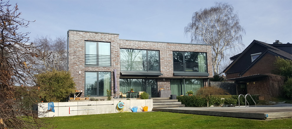 2 geschossiges einfamilienhaus mit flachdach in salzgitter for Einfamilienhaus flachdach
